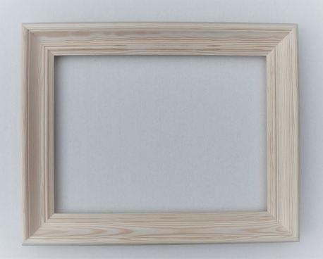 Rama drewniana frezowana surowa 40cm x 50cm (1)